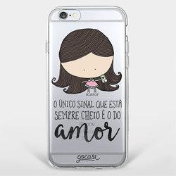 Capinha para celular Amor deu Sinal