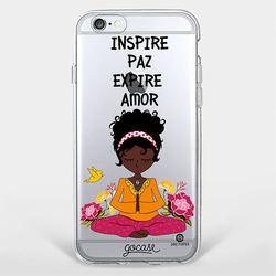 Capinha para celular Hippie Negra