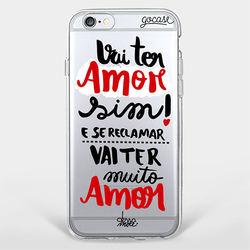 Capinha para celular Vai ter Amor