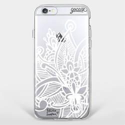 Capinha para celular White Mandala