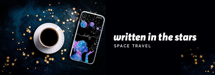 Space travel banner categoria